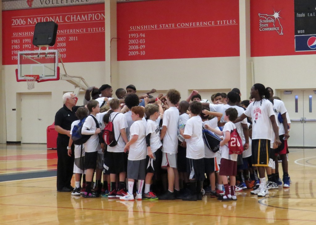 camp huddle